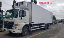 Xe tải thùng đông lạnh Hino fg 8t