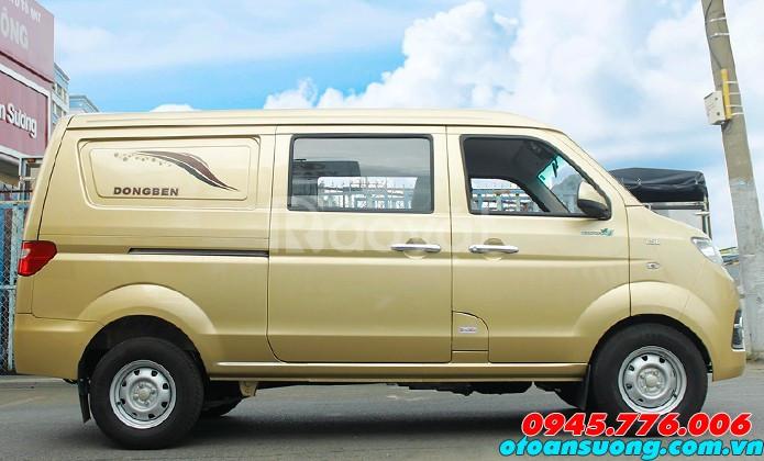 Bán xe bán tải Dongben 490kg Euro 4 vào thành phố 24/7