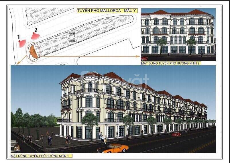Shophouse Vinpear Casino Phú Quốc căn vị trí đep, giá gốc CĐT