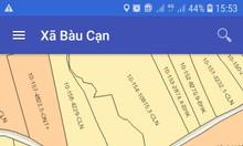Bán đất xã Bàu Cạn giá rẻ gần sân bay Long Thành, giá chỉ 550 triệu/m2