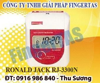 RJ3300A/3300N máy chấm công thẻ giấy hàng chính hãng