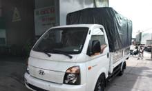 Xe tải 1.5 tấn Hyundai Porter 150 thùng mui bạt 2018, trả trước 100tr
