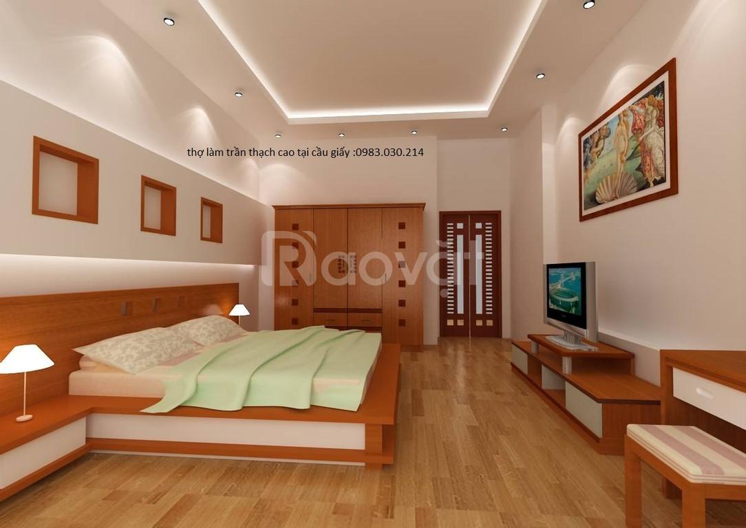 Sửa chữa trần thạch cao tại Hà Nội giá rẻ