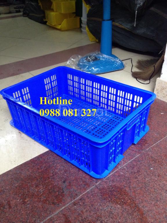 Thùng nhựa, rổ nhựa đan, khay nhựa, thùng nhựa đặc