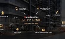 CH nghỉ dưỡng Swisstouches - La Luna Nha Trang mở bán tòa A1 CK14%