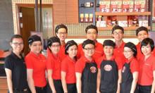 May đồng phục áo phông Cafe