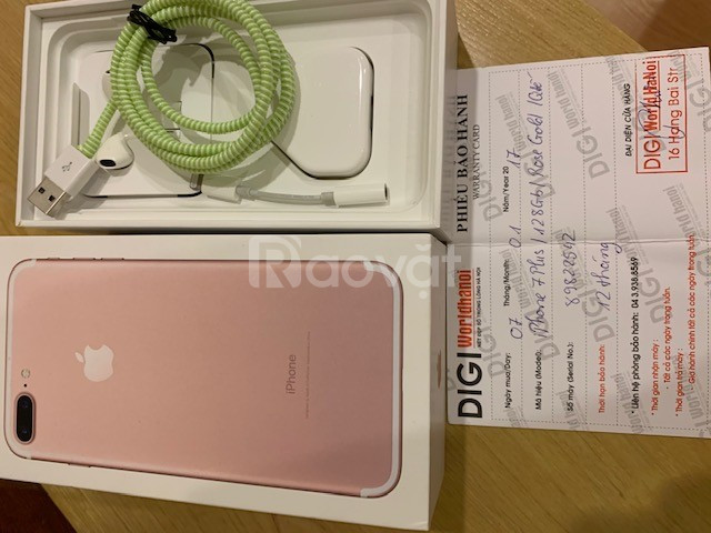 Bán Ip7+ 128G hồng vàng như mới