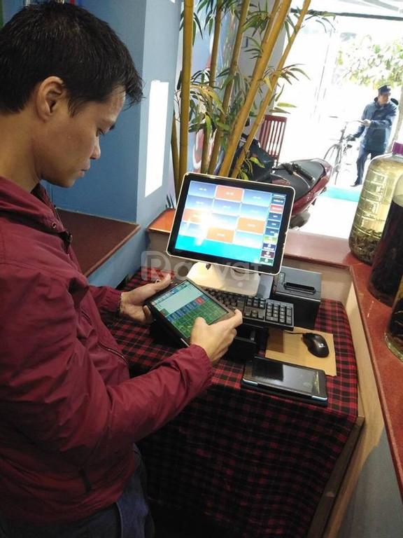Bán máy tính tiền - Tablet order cho nhà hàng tại Bình Dương