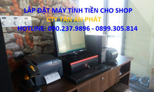 Nhận lắp đặt máy tính tiền cho shop quần áo tại Bắc Giang