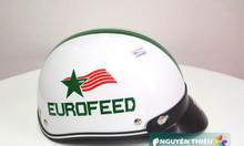 Mũ bảo hiểm in logo quảng cáo, in nón bảo hiểm quà tặng doanh nghiệp