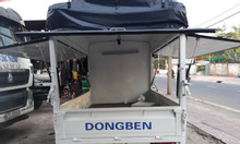 Xe tải Dongben 810kg thùng bạt