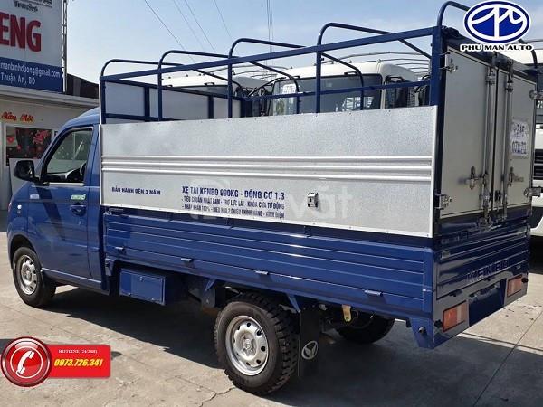 Xe tải nhẹ KenBo tải trọng 1 tấn thùng mui bạt