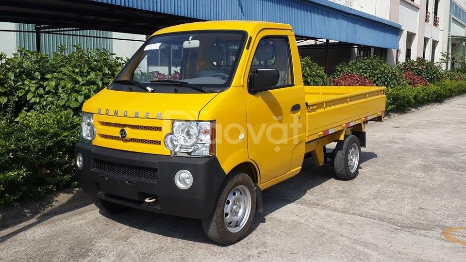 Xe tải Dongben 870 kg thùng lửng