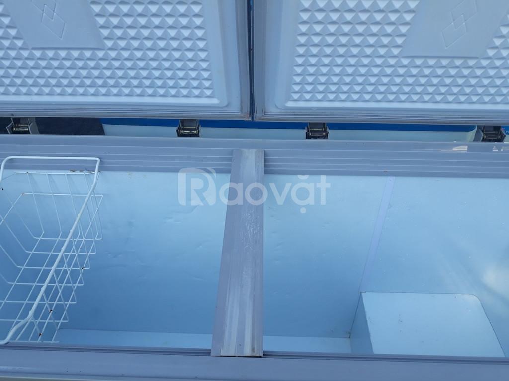 Thanh lý tủ đông VH-4099A1 mới 90%, côi láng, dàn lạnh đồng