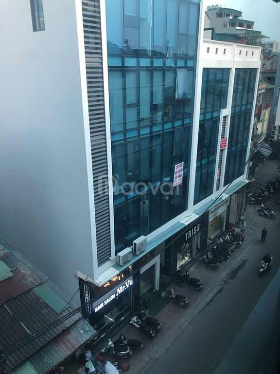 Bán nhà mặt phố Yên Lãng 6 tầng 5m mặt tiền 16 tỷ 45m sổ đỏ (ảnh 2)