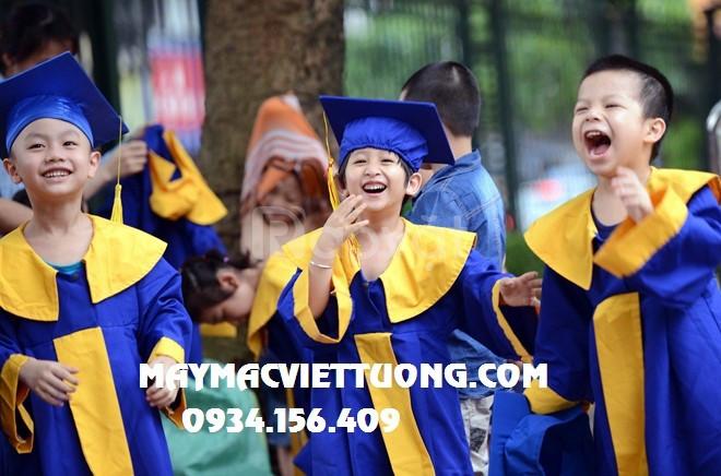 May áo lễ phục tốt nghiệp mầm non giá rẻ Bình Dương