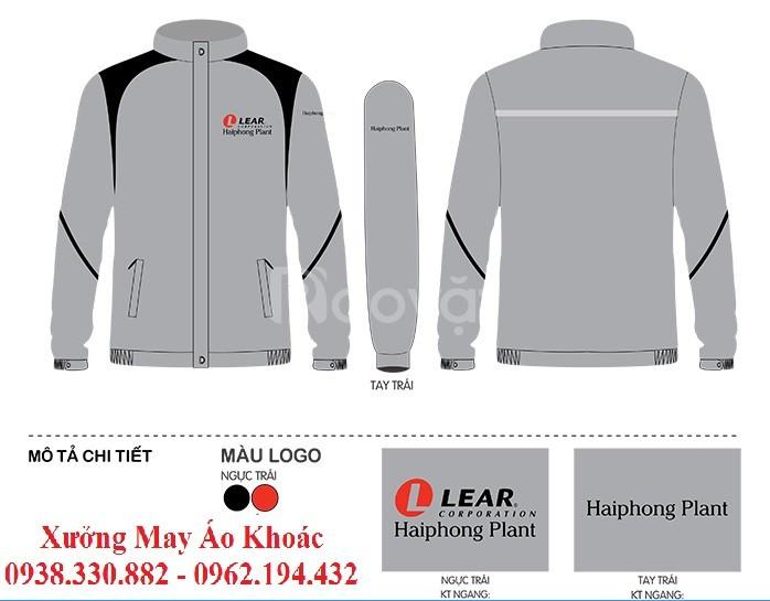 May áo khoác quà tặng quảng cáo giá rẻ
