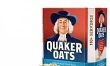Yến mạch Quaker Oats nhập khẩu từ Mỹ