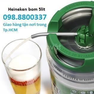 Bia bom heineken 5 lít Hà Lan (ảnh 1)
