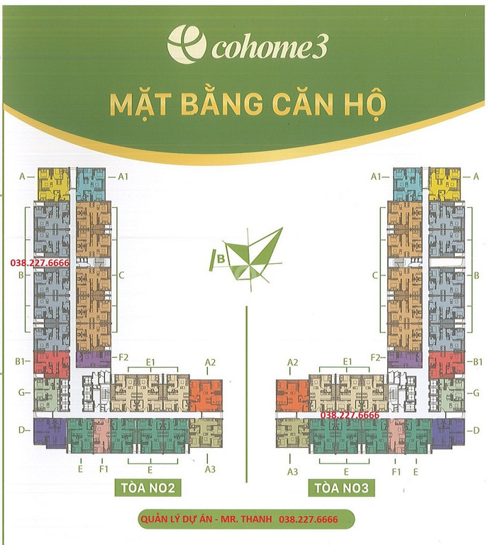Chung cư Ecohome 3 giá 13.5tr ~ 460tr/căn
