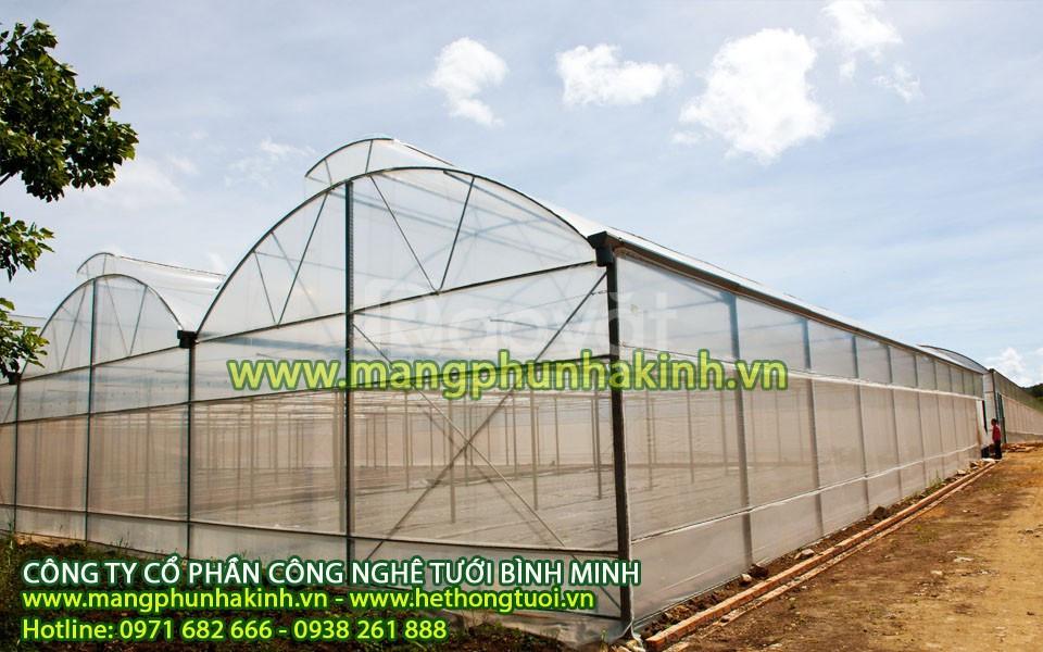 Vật tư nhà màng, băng keo dán màng, sợi se dưa lưới, túi PE trồng cây