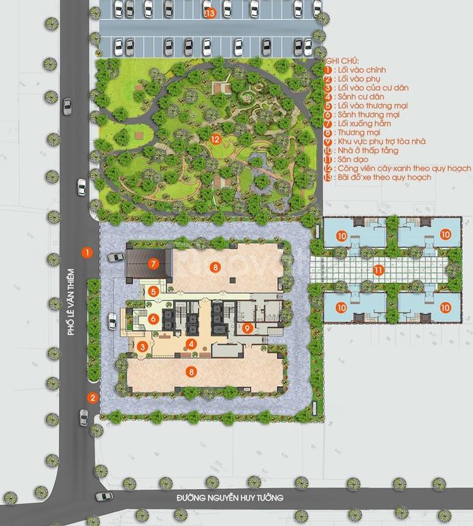 Chung cư rẻ trung tâm Q.Thanh Xuân 21.7tr/m2 CK 10%