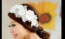 Phụ kiện cài tóc cô dâu đẹp với hoa cài tóc chỉ 150k