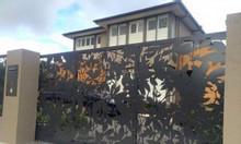 Thiết kế, gia công cổng sắt CNC, sắt uốn nghệ thuật cho biệt thự