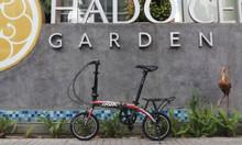 Xe đạp gấp tiện lợi cho mọi nhà