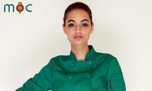 Áo bếp áo đầu bếp, áo bếp trưởng, đồng phục bếp nhà hàng