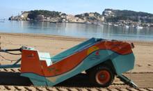 Máy làm sạch bãi biển, máy làm sạch rác bãi biển Hbarber- Mỹ