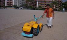 Máy làm sạch bãi biển, xe cào rác bãi biển