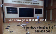 Sàn nhựa vân gỗ tấm lót sàn Simili giá rẻ