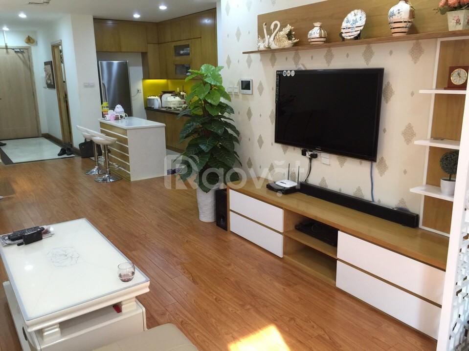 Cho thuê CH tại chung cư 71 Nguyễn Chí Thanh, 127m2, 3PN