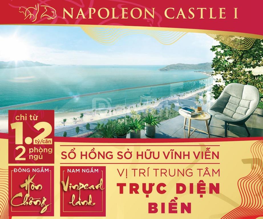 Ngắm vẻ đẹp vịnh Nha Trang từ căn hộ đẹp Nha Trang NapoleonCastles
