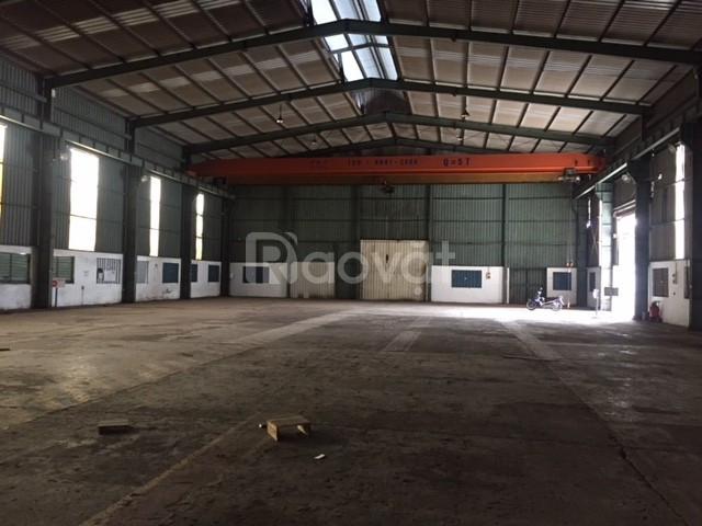 Cho thuê kho xưởng DT: 1000m, 1700m, 3000m, 4500m2 KCN Quang Minh
