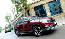 Cần bán gấp Honda Crv đời 2016 bản 2.4 màu đỏ mận