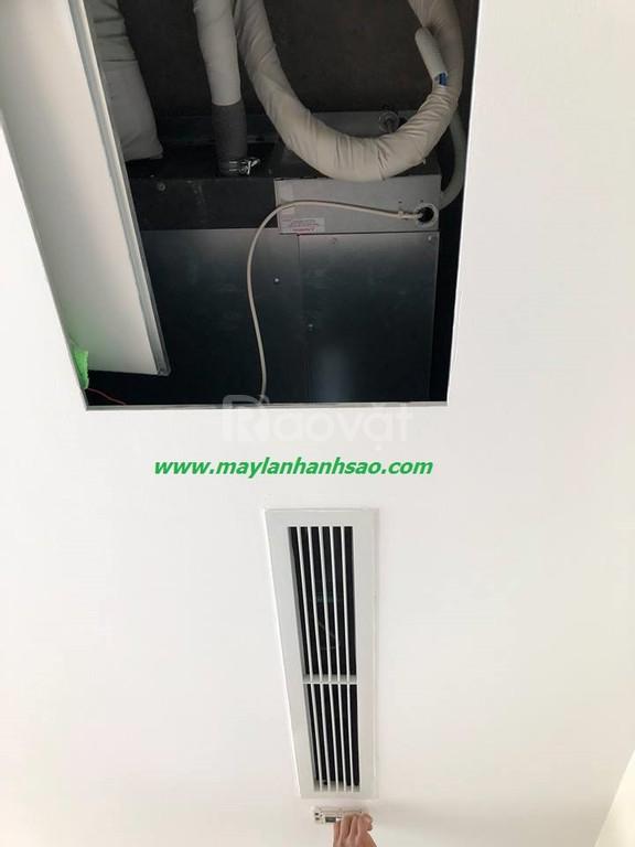 Nhận tư vấn - thiết kế lắp đặt máy lạnh giấu trần Daikin nối ống gió