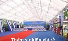Thảm sự kiện Hà Nội thảm nỉ giá rẻ