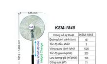 Báo giá quạt đứng công nghiệp Dasin KSM-1845