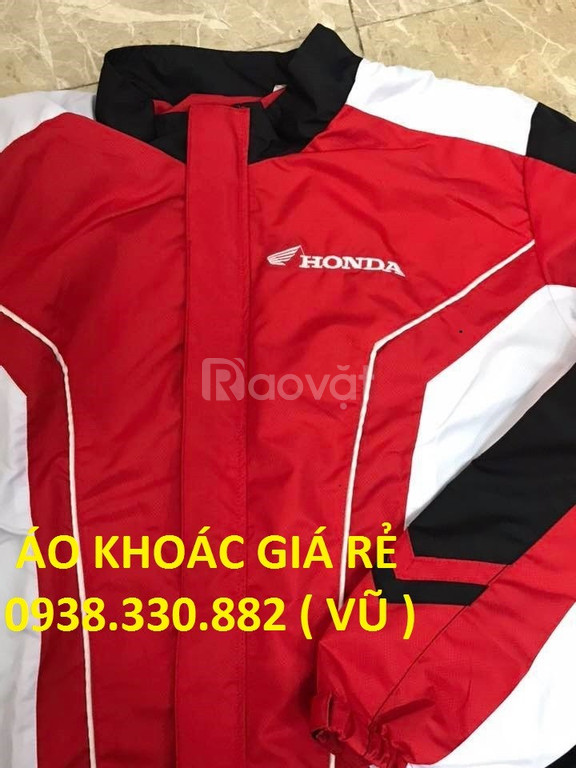 Áo khoác honda yamaha cao cấp giá rẻ toàn quốc
