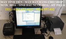 Máy tính tiền giá rẻ cho shop mỹ phẩm, nước hoa tại TpHCM