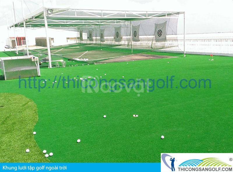 Khung lưới tập golf công ty tnhh lưới công trình