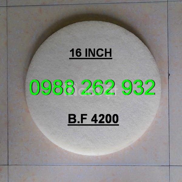 Pad đánh bóng sàn màu trắng - Pad BF 4200