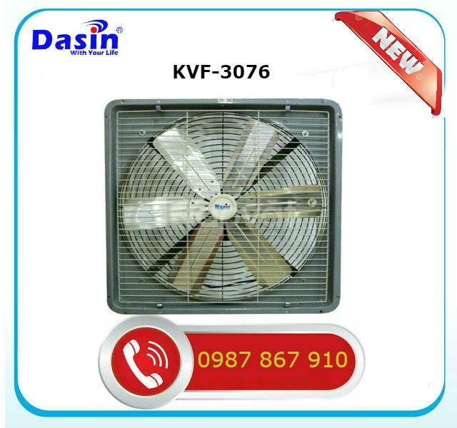 Báo giá quạt thông gió công nghiệp Dasin KVF-3076