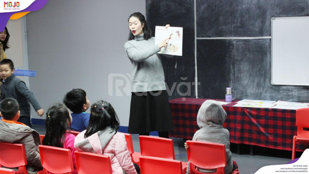 Chuyên gia thế giới đánh gía cao chất lượng dạy tiếng anh cho trẻ em