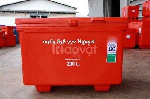 Bán thùng đá Thái Lan - thùng đá giữ lạnh - thùng đá giá rẻ