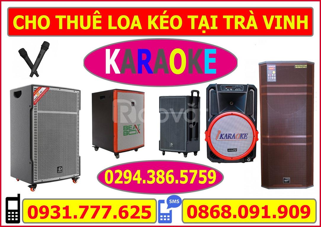Cho thuê loa karaoke di động tại Trà Vinh