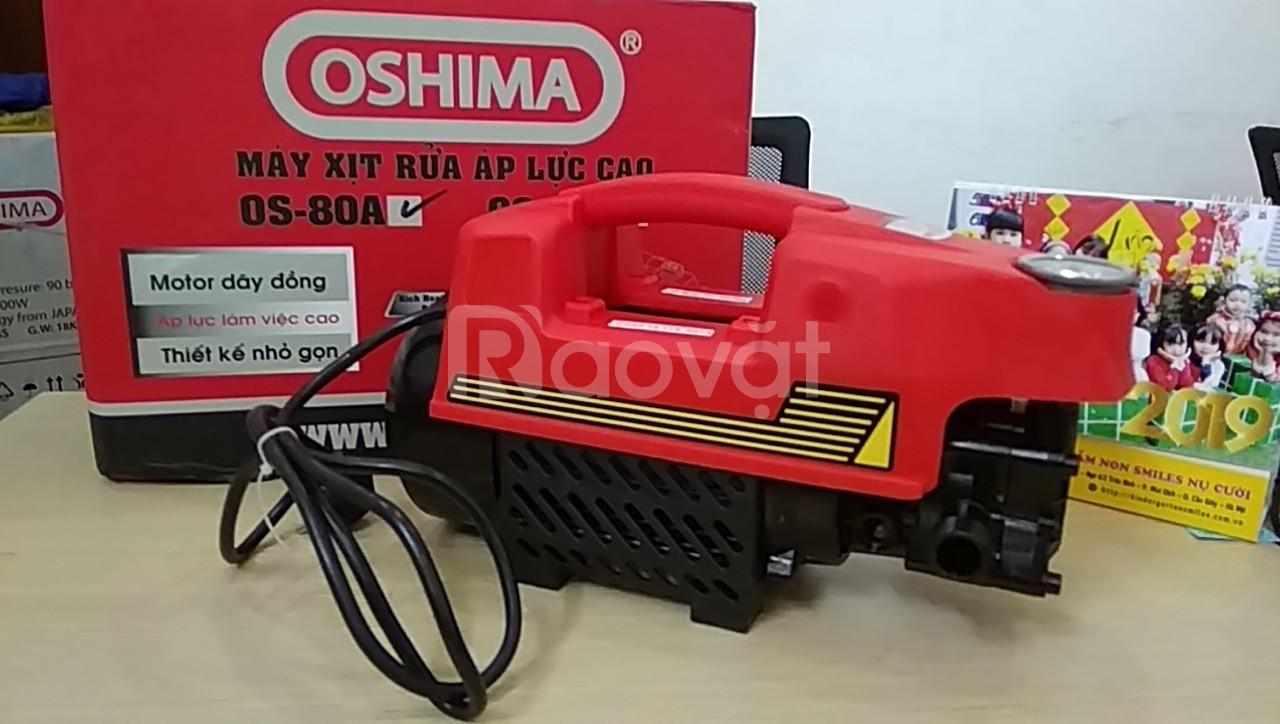 Máy rửa xe mini cho gia đình tự động oshima os80a