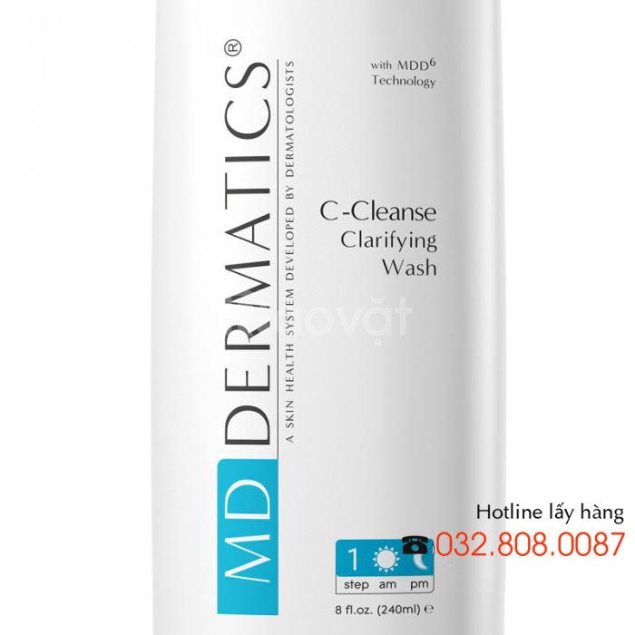 Sữa rửa mặt cho da nhờn C-Cleanse Clarifying Wash Md Dermatics